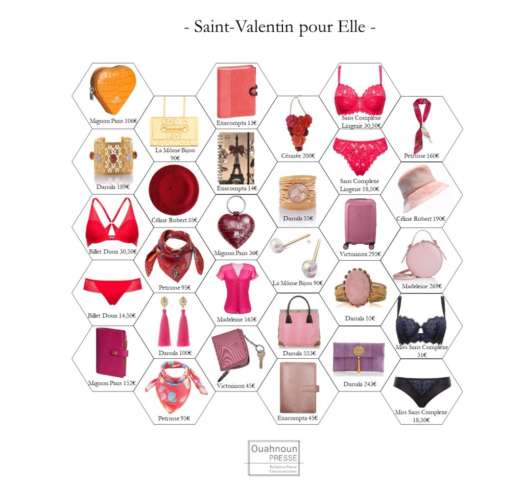 CP Saint-Valentin Femme